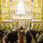 2015.11.28 Освящение храма и Божественная литургия, с. Георгиевка
